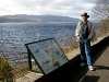 Looking for monsters at Loch Ness, Inverness, Scotland.