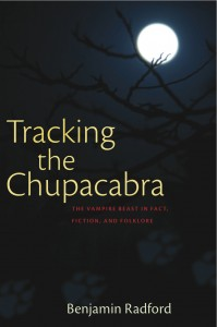 Tracking the Chupacabra cover JPG