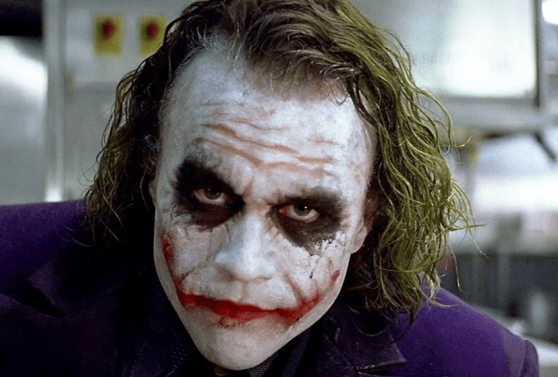 Heath Ledger is a Bad Clown