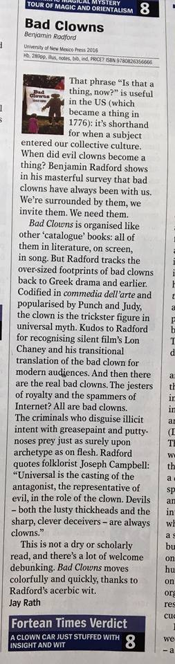 Bad Clowns FT review