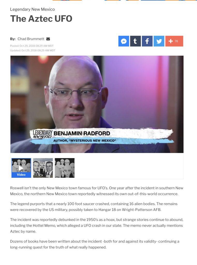 Blog Benjamin Radford